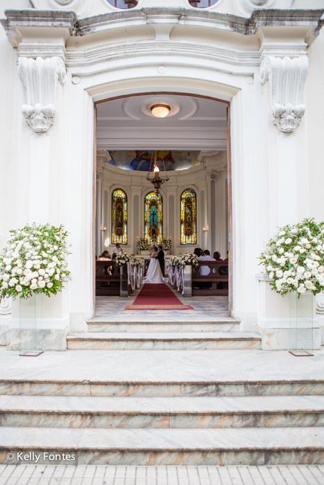 Capela Santa Terezinha Laranjeiras fotografia de casamento RJ por Kelly Fontes